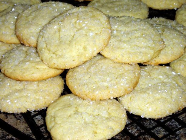 Cream sugar cookie recipe